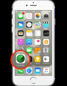 Si la fonction Localiser mon iPhone est activée
