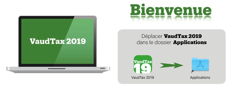 Installer VaudTax 2019 sur Mac