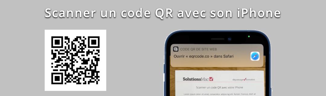 Scanner un QR avec son iPhone